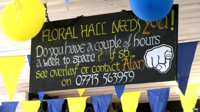 Hornsea Floral Hall poster