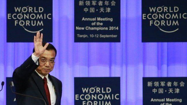 Li Keqiang at World Economic Forum