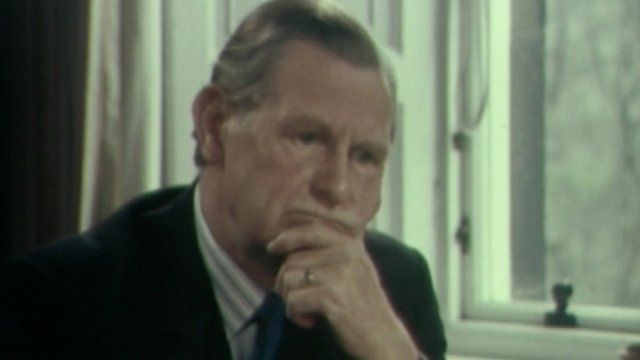 Willie Ross speaking to Current Account in 1974