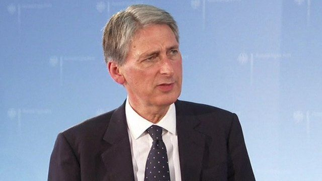 Foerign Secretary Philip Hammond