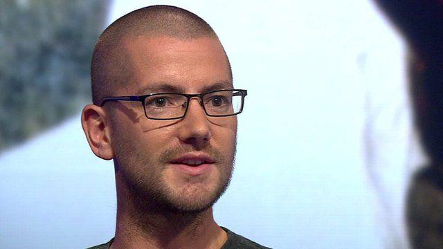 Ebola survivor William Pooley