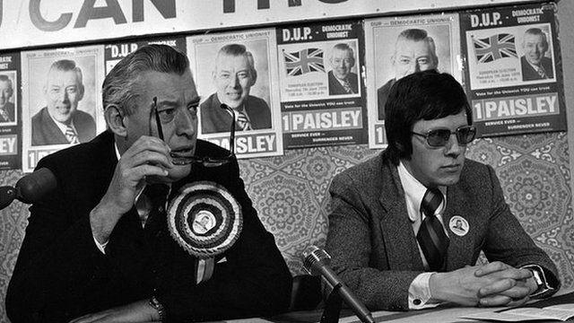 Ian Paisley and Peter Robinson