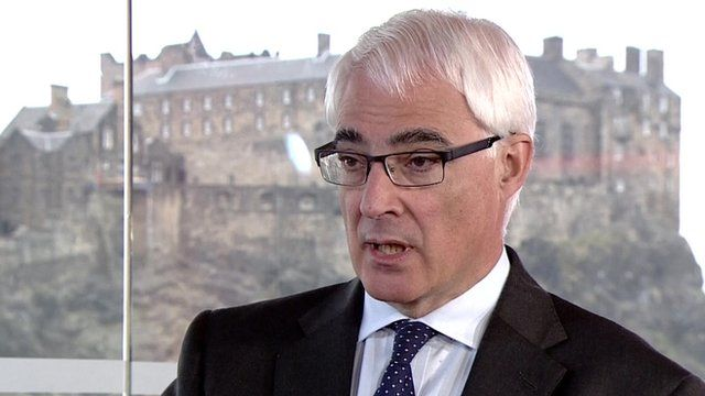 Leader of the Better Together campaign, Alistair Darling, on the Andrew Marr Show