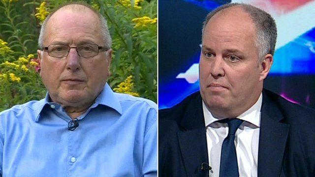 Ron Davies and Andrew RT Davies