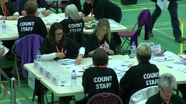 Count staff at a table