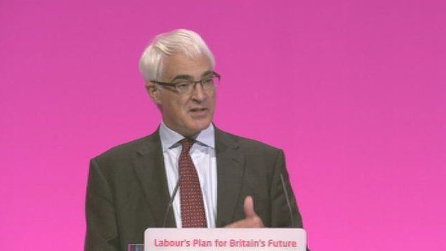 Alistair Darling said supporters of independence must fully accept the outcome of the referendum
