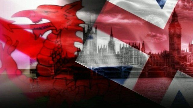 Welsh and Union flags