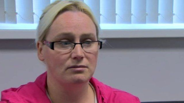 Mum-of-four, Leanne Gibson, said by the time she pays for food and bills there is nothing left