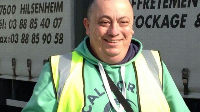 Taxi driver and volunteer British aid worker Alan Henning