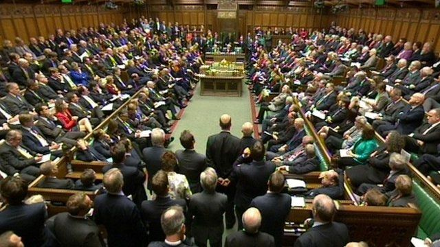 House of Commons debate