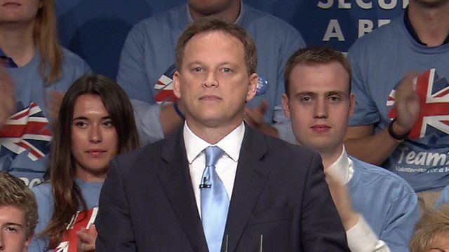 Grant Shapps at Conservative Party Conference 2014