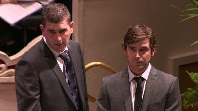 Nephew's Daniel and Andrew Poole