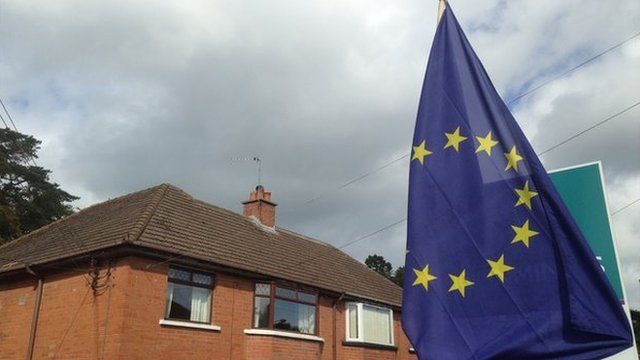 The European flag that led to a complaint