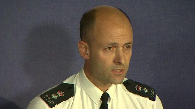 Chief Superintendent Luke Collison