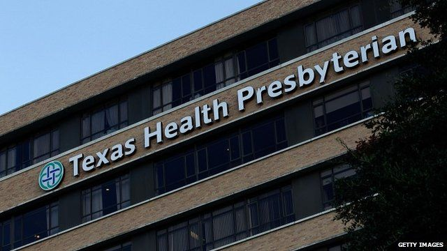 Texas Health Presbyterian Hospital Dallas where a patient has been diagnosed with the Ebola virus