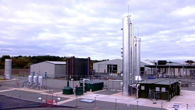 Minworth sewage treatment plant
