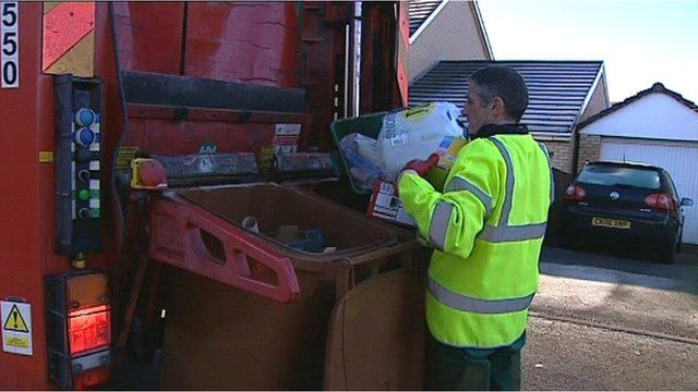 A refuse worker in Pembrokeshire