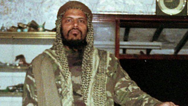Manwar Ali as a jihadist in the 1980s