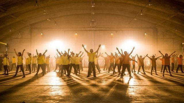 A group dance to classical music from the Ten Pieces film