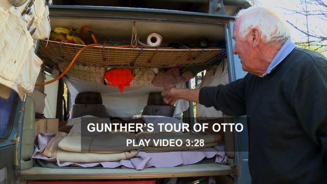 Gunther Holtorf, and his car Otto