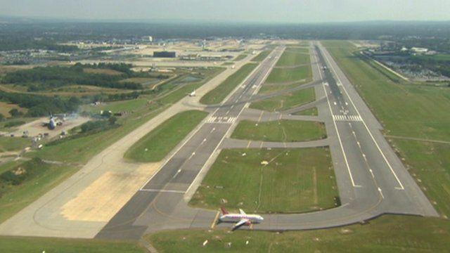 Gatwick Airport runways