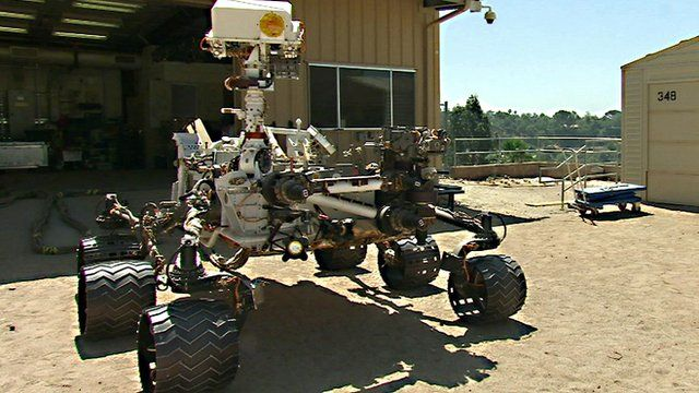 Nasa's Curiosity rover's twin which resides on Earth