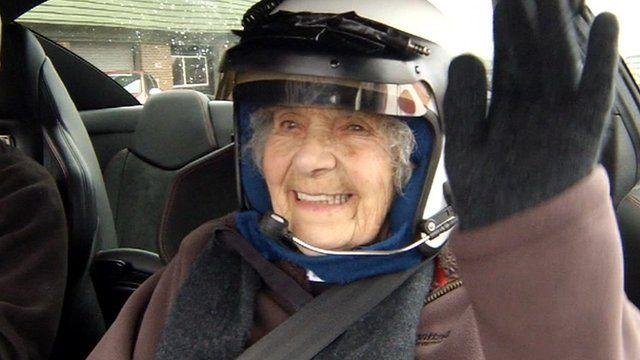 Nora Brier at Snetterton Racing Circuit