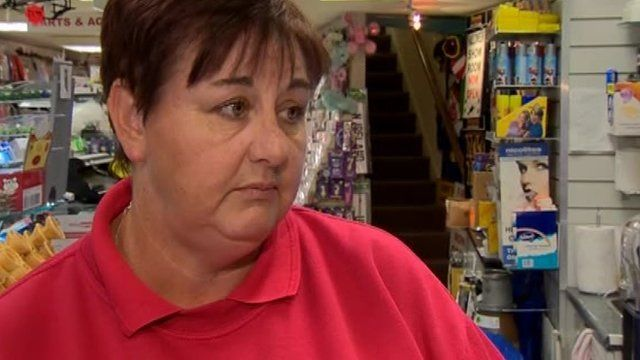 Local people were concerned about what the announcement will mean for other businesses in the town