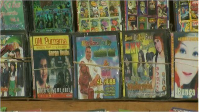 Pirate DVDs