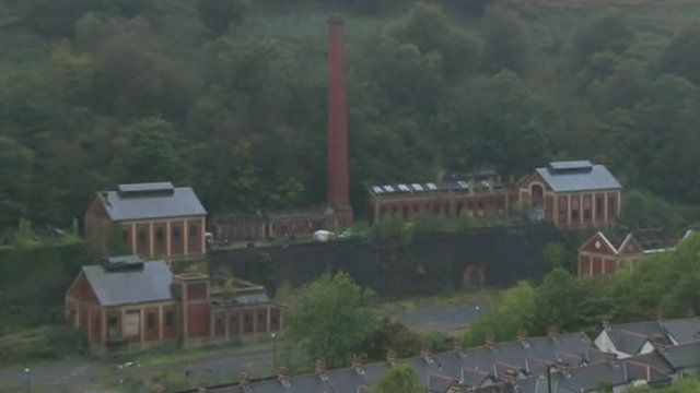 Navigation Colliery buildings