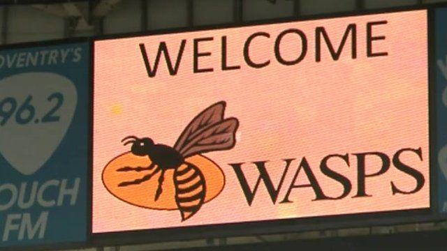 Wasps sign