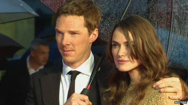 Benedict Cumberbatch and Keira Knightley