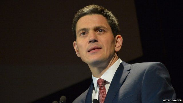 David Miliband, International Rescue Committee