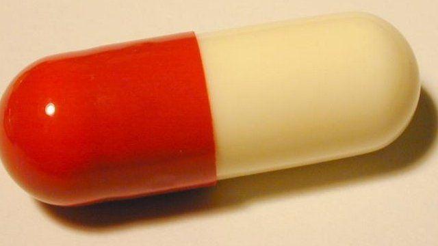 Ant-biotic pill