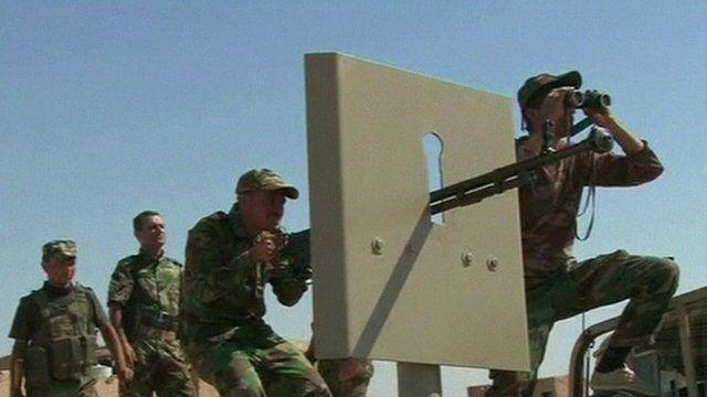 Peshmerga soldiers
