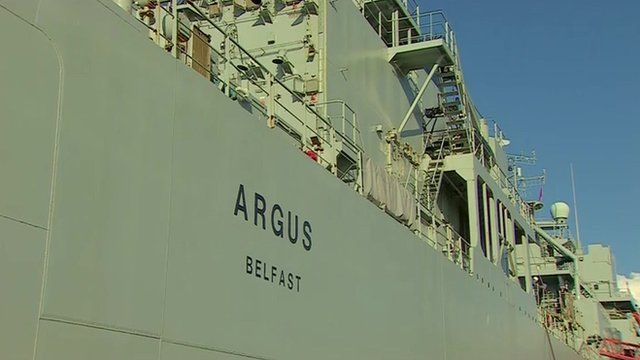 The Royal Fleet Auxiliary Argus