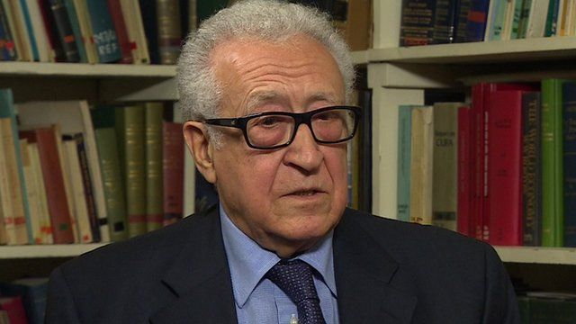 Former UN and Arab League special envoy to Syria, Lakhdar Brahimi