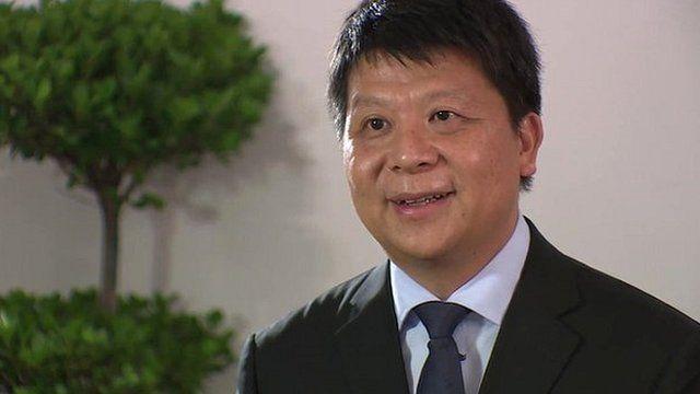 Guo Ping, Huawei chief executive