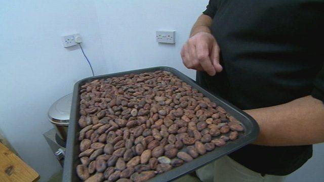 'Bean to Bar' Chocolate made in Cheltenham garage