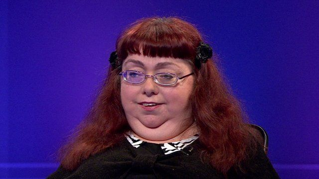 Disability activist Penny Pepper on Newsnight