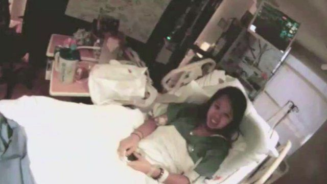 Nina Pham in isolation