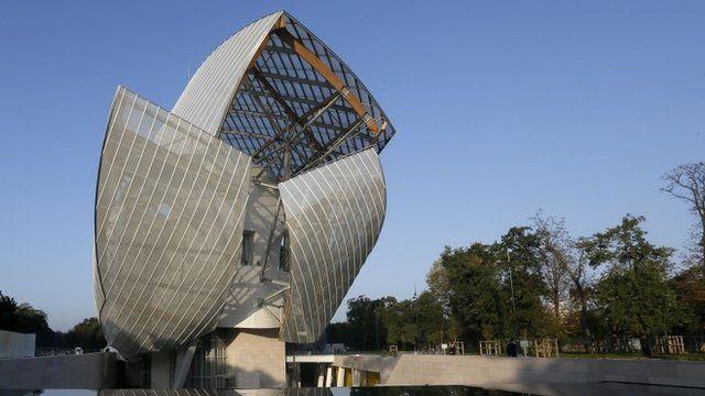 The Louis Vuitton Foundation in Paris