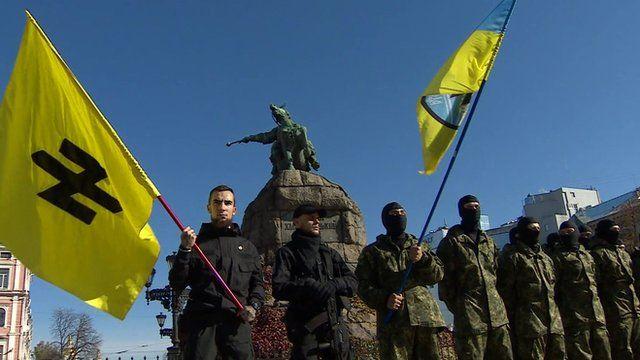 Ukrainian far-right militia