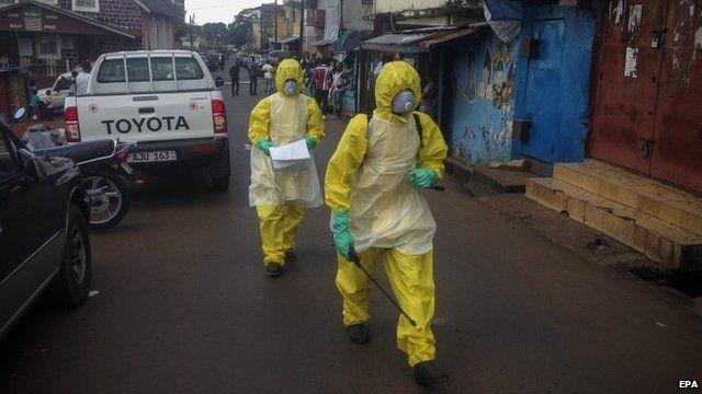 Sierra Leone health workers