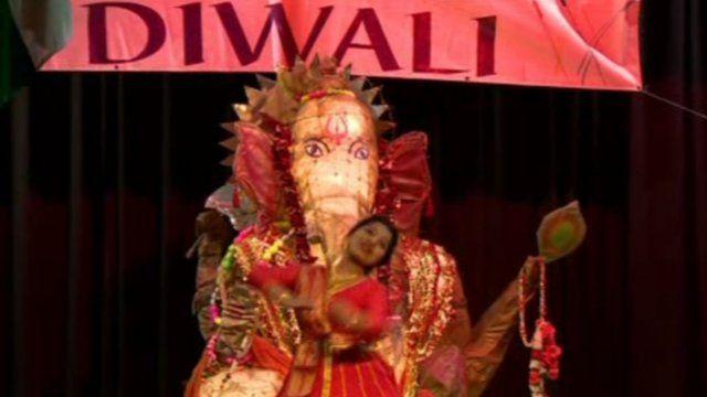 Diwali celebrated in Belfast