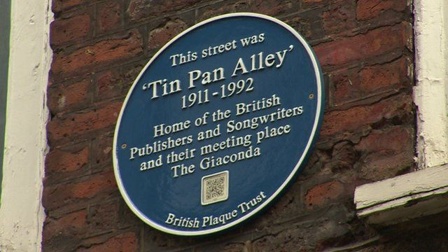 Tin Pan Alley sign