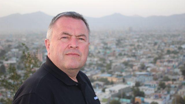 Tony Lewis in Kabul