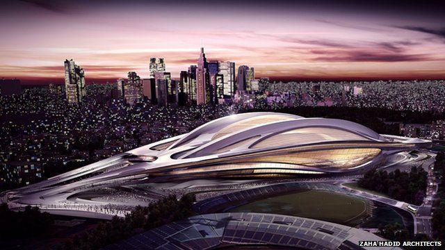Is Japan 2020 stadium too big? In 60 seconds - BBC News