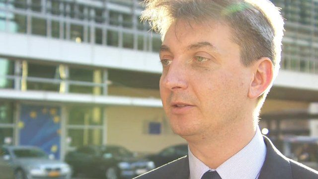 Jacek Dominik ,EU's Commissioner for Financial Programming and Budgets