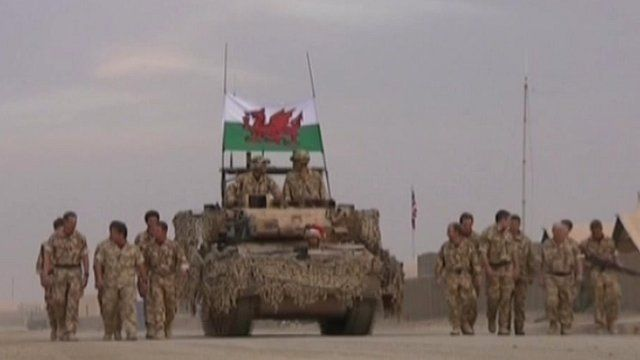 The Queens Dragoon Guards in Afghanistan